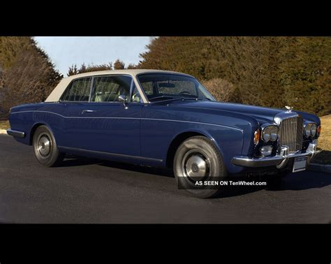 bentley corniche convertible 1973 bentley corniche 6 8l coupe fhc body by m p w