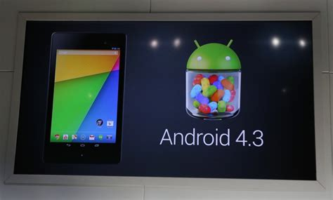 Nexus 7 Tablet Android Jelly Bean announces android 4 3 with additional parental controls
