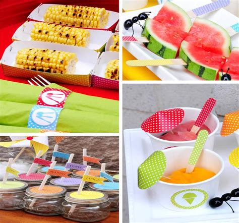 summer grilling party decorations supplies ideas