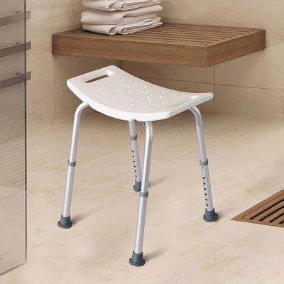 sgabello per vasca da bagno sgabello doccia per anziani disabili altezza regolabile