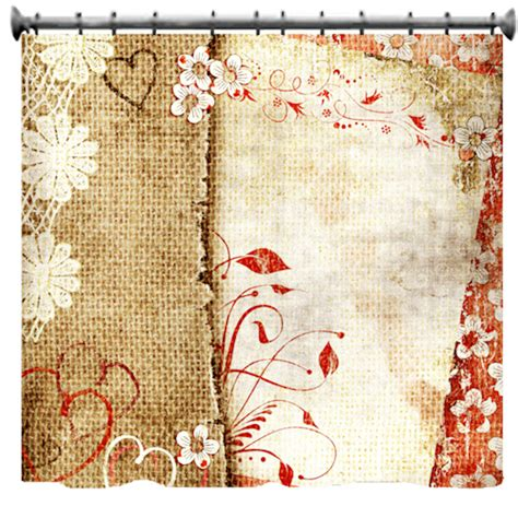 canvas shower curtain flowers canvas shower curtain choice of sizes by susanakame1
