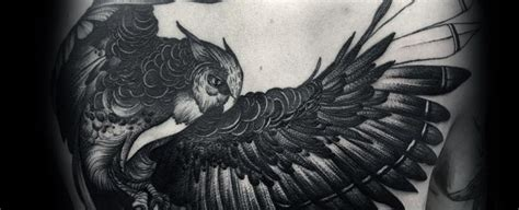 40 cool owl tattoo design 40 owl back designs for cool bird ink ideas