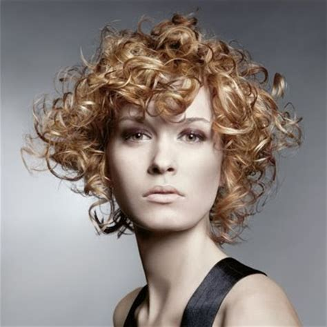 curly perms for short hair scene hairstyles women curly hair perm style
