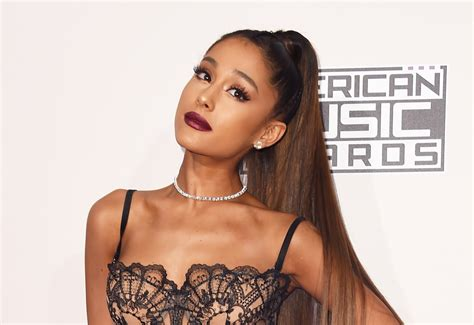 whats wrong with ariana grandes hair ariana grande purple wig august 2017 popsugar beauty uk