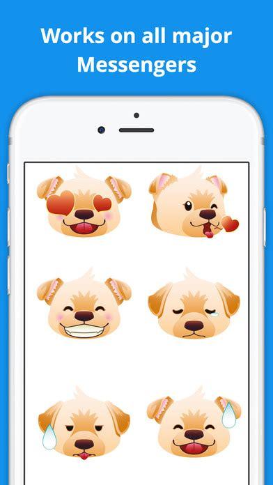 golden retriever emoji app shopper labramojis labrador retriever emoji stickers entertainment