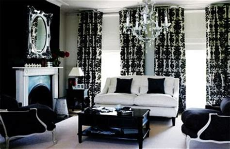 black and white home decor ideas black and white living room glamour panda s house