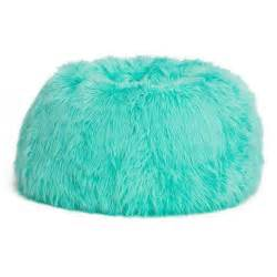 blue fuzzy bean bag chair bed rooms pinterest turquoise bags and monsters
