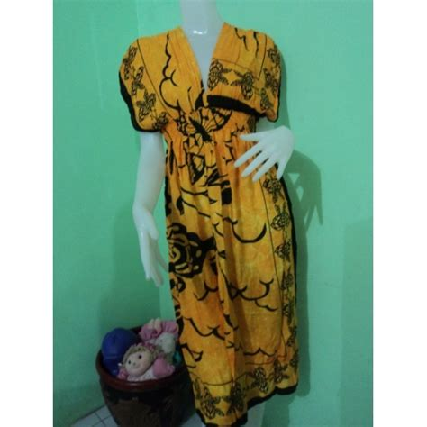 Dress Batik Bangkok maxi dress from bangkok indonesia batik dress 015