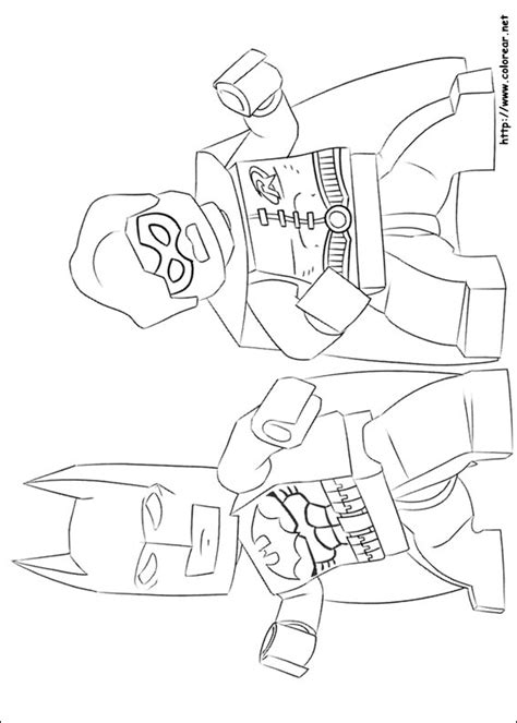 dibujos para colorear batman robin batgirl y batman para imprimir dibujos para colorear de lego batman