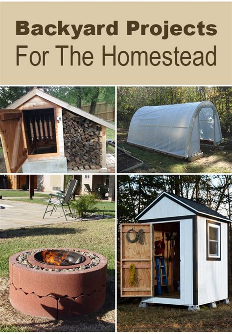 diy homestead projects 10 backyard projects for the homestead
