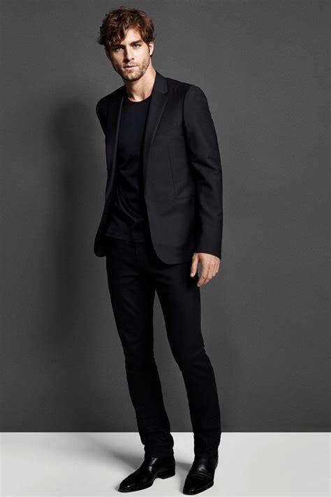 black suit ブラックスーツ 着こなし 最新スタイル 男前研究所