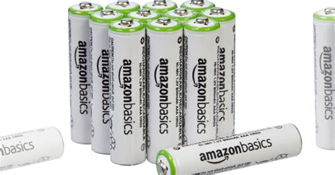 Amazonbasics Pile Rechargeable Aa by Amazonbasics Aaa Rechargeable Batteries 12 Pack Only 11
