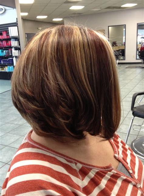 stacked   bob haircuts    pretty designs