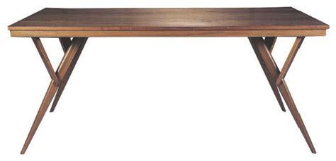 Fresno modern wood dining table mid century dining table modern dining tables by light