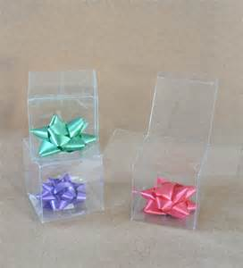 Clear Boxes For Wedding Favors by Clear Favor Boxes 20 Clear Boxes Favor Boxes Clear