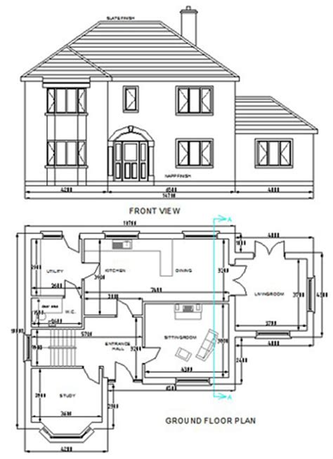 cad house plans auto cad house plans 171 unique house plans