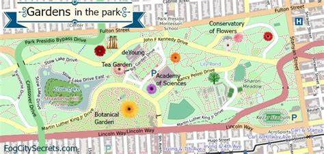 san francisco map golden gate park san francisco maps see the ones i ve created for sf