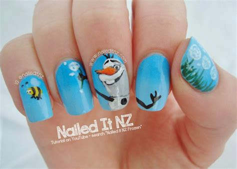 nagel stickers frozen disney nail 5 frozen nailed it nz nagelschere