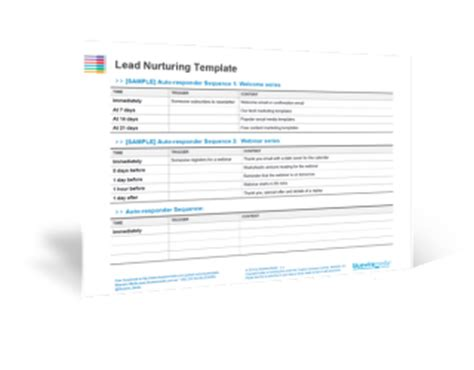 The Beginner S Guide To Lead Nurturing Emails Lead Nurturing Plan Template