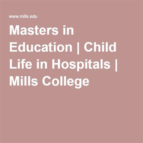 Mills Mba Admissions by 17 Best Images About Child Masters Programs On