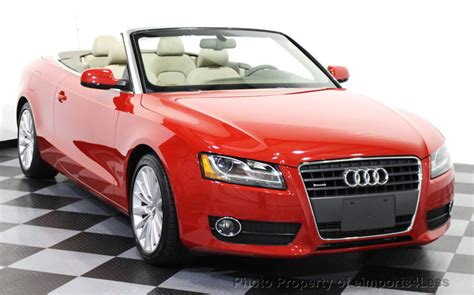 convertible audi used 2012 used audi a5 cabriolet certified 2 0t quattro
