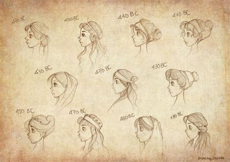 ancient hairstyles ancient hairstyles by ninidu on deviantart