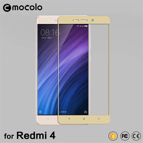 Tempered Glass Xiaomi Redmi 4 Prime Warna Cover 100 for xiaomi redmi 4 pro prime 0 33 mm flat edge cover tempered glass screen protector redmi