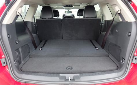 Dodge Journey Interior Space by Lower The Rear Seats And You Ve Got Looooads Of Cargo