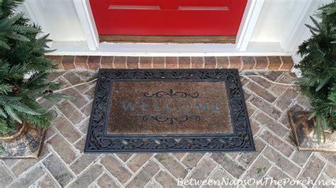 Frontgate Front Door Mats Mongrammed Door Mat From Frontgate