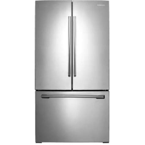 home depot samsung 25 5 cu ft door refrigerator