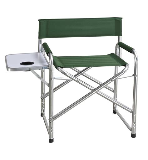 Directors Chair With Side Table by Folding Directors Chairs For Easy Activity
