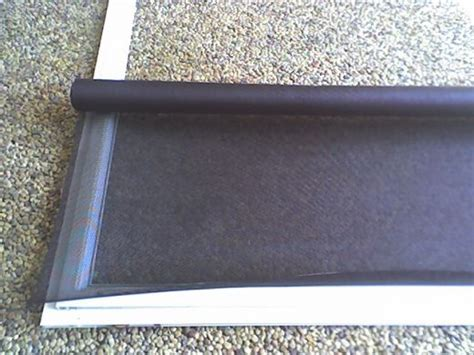 how to repair a sliding screen door with supplies from