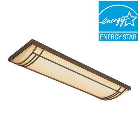 fluorescent ceiling light fixture designers es82423 wm 4 designers fountain solano collection 4 light warm mahogany