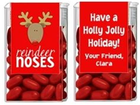 reindeer noses christmas party favors 1000 images about tic tac decorated covers on tic tac favors and stin up