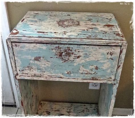 how to get a shabby distressed paint finish youtube