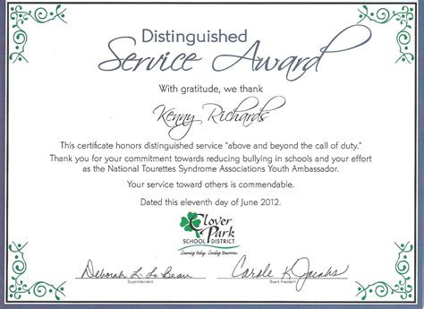 service badge template distinguished service award anuvrat info