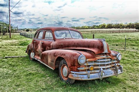 Rost Auto by Free Images Sky Countryside Transportation Rust Auto