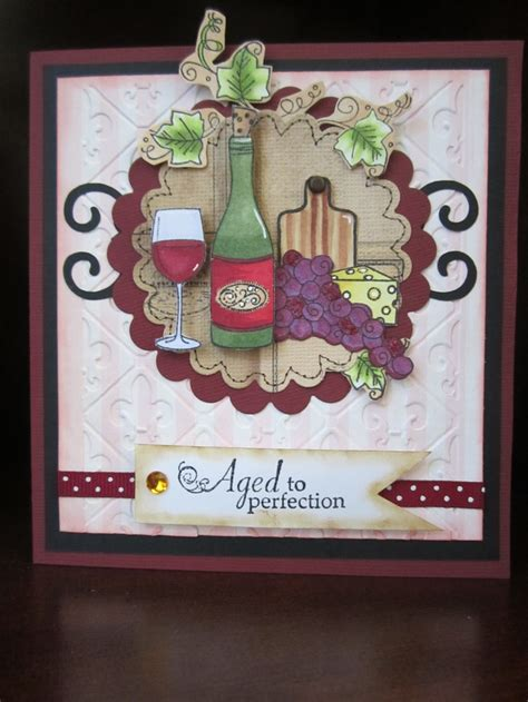 Wine Themed Birthday Cards 17 best images about wine themed cards on wine