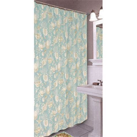 shell shower curtains shells shower curtain