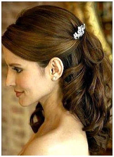 Half Up Half Wedding Hairstyles Groom by Wedding Hairstyles With Veil Half Up Half