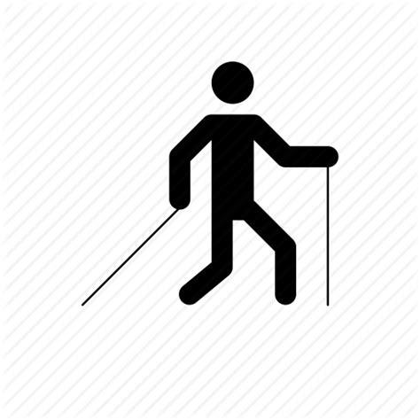 format graficzny eps nordic walker nordic walking walking icon icon search