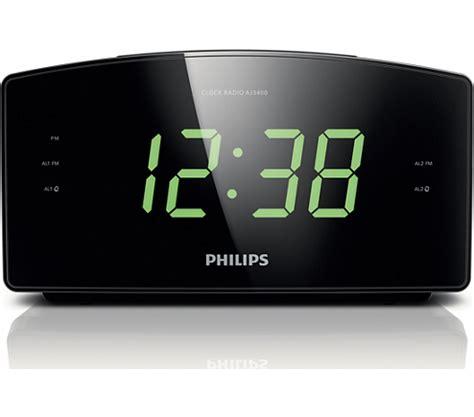 clock radio aj philips
