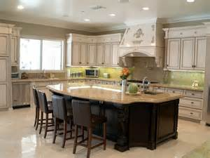 wonderful Kitchen Island With Cabinets And Seating #2: custom-made-Kitchen-Islands-with-Seating.jpg