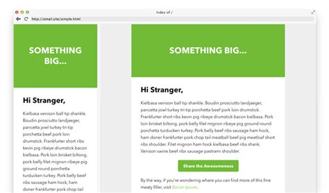 30 Sites To Download Open Source Email Templates Pyntax Basic Responsive Email Template