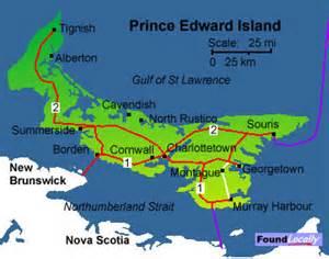 pei canada map