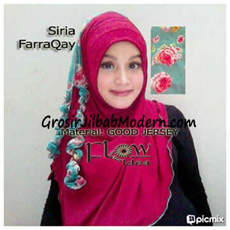 Jilbab Syari Kerudung Kerudung Instant Syiria Khanza jilbab syria farraqay marun hijau grosir jilbab modern