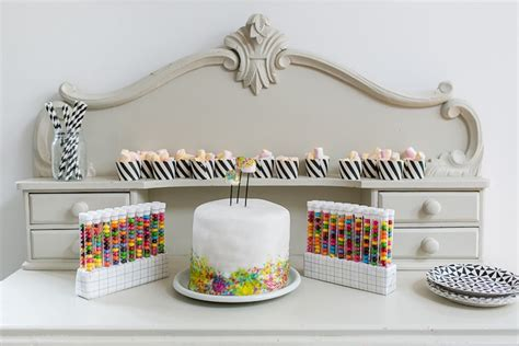 Kitchen Styling Ideas by Kara S Party Ideas Modern Science Themed Birthday Party