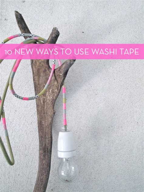 washi tape uses 10 clever new uses for washi tape 187 curbly diy design