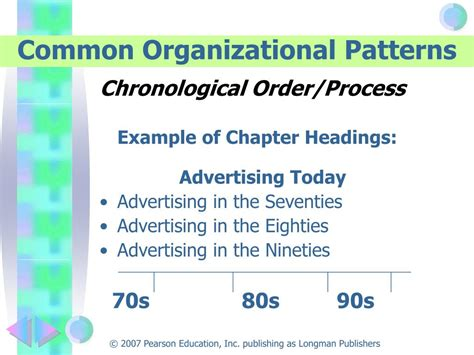 pattern of organization process order ppt efficient and flexible reading 8 e kathleen t