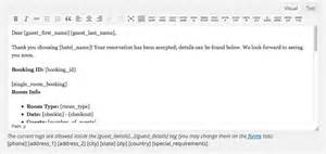 hotel confirmation email template reservation confirmation template images